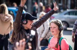 Dublin: Stille Disco-Wanderung