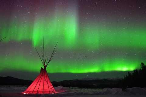 Yukon: Aurora Borealis Evening Viewing Tour