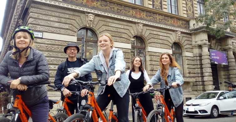 Budapest: 3.5-Hour Sightseeing Bicycle Tour