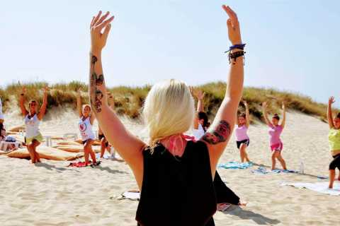 Surfing and Yoga in Lisbon