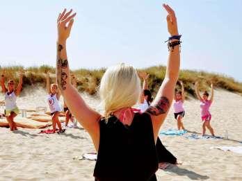 Lissabon: Surf-Unterricht und Yoga-Session. Foto: GetYourGuide