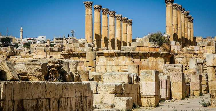 From Amman: Private Tour to Jerash and Ajloun
