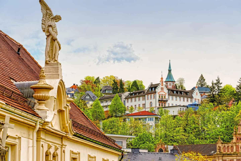 Ab Frankfurt: Ganztagsausflug nach Baden-Baden & Straßburg