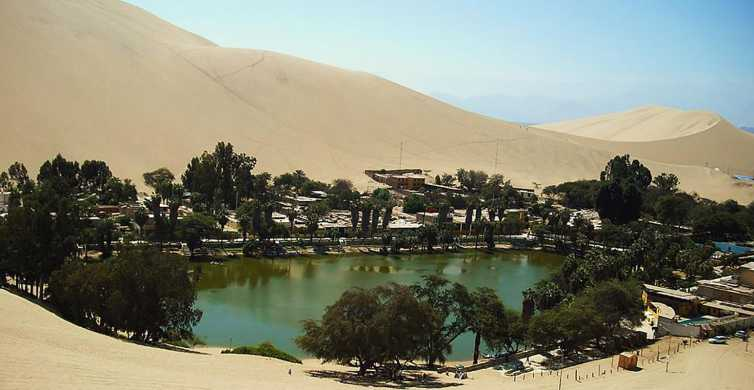 From Lima: Ballestas Islands, Huacachina Oasis & Winery Tour