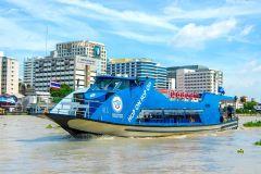 Rio Chao Phraya: Passe de Barco Hop-On Hop-Off