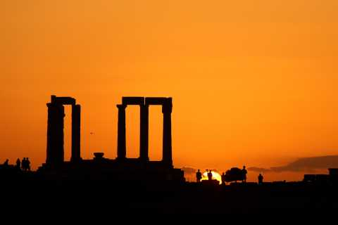 Athen: Sonnenuntergang am Kap Sounion & Poseidontempel