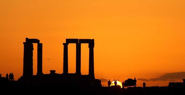 Atene: tour al tramonto a Capo Sunio e tempio di Poseidone