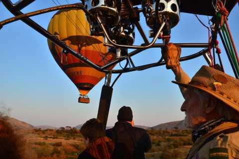Pilanesberg-Nationalpark: Heißluftballon-Safari in Sun City