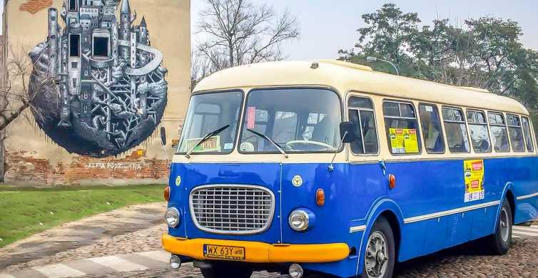 Warszawa: 2,5-godzinna wycieczka po Pradze samochodem retro