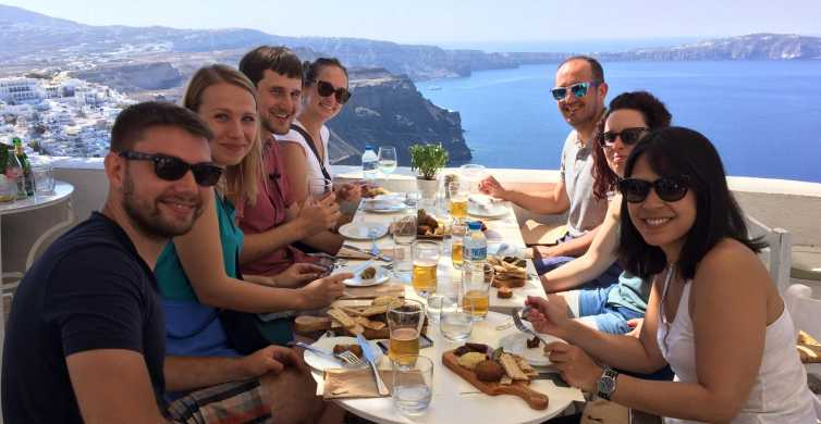 Fira: 4-Hour Walking Food Tour With Tastings