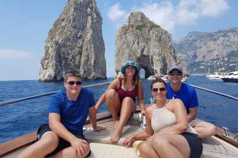 Capri: Private Boat Tour from Sorrento