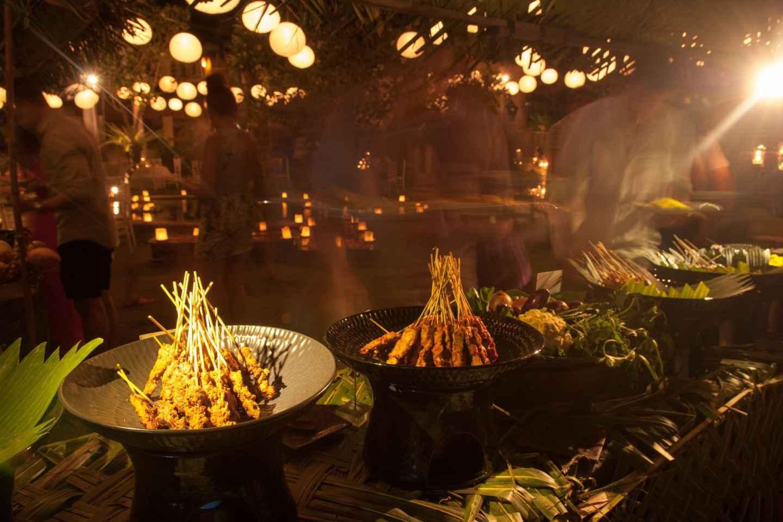 Denpasar: Street-Food-Rundgang am Abend
