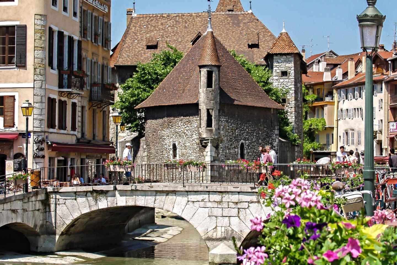 Stadtrundfahrt in Genf und Besuch in Annecy