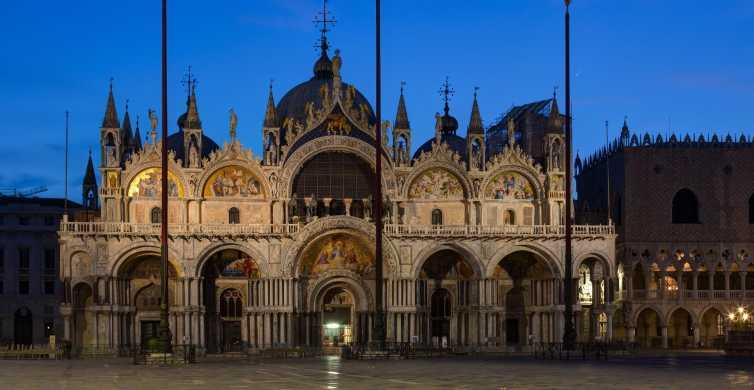 Venise: visite exclusive après les heures normales par la basilique Saint-Marc