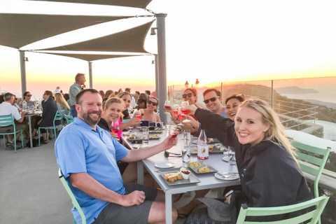 Santorini: tour del vino de 4 horas al atardecer