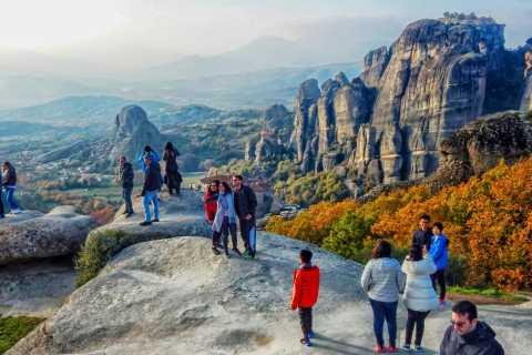 Depuis Athènes: excursion d'1journée aux Météores en train