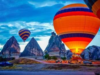 Kappadokien: Heißluftballonfahrt. Foto: GetYourGuide