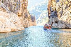 Passeio de barco pelo Green Canyon saindo de Antalya