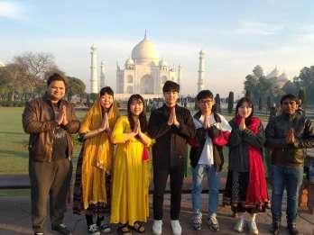 Delhi: Taj Mahal & Rotes Fort - Sonnenaufgangs-Tour