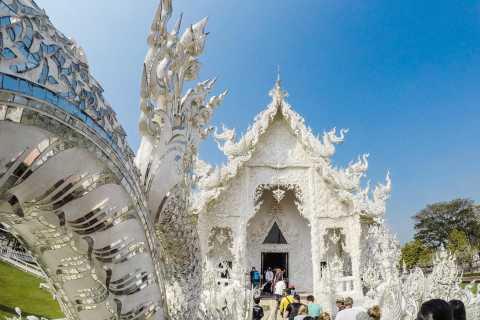 Chiang Rai: 2-Day Private White Temple & Golden Triangle