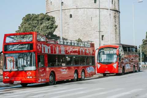 Thessaloniki: Hop-On/Hop-Off-Sightseeing-Bustour