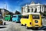 Warsaw: Private Vintage Car Jewish Tour