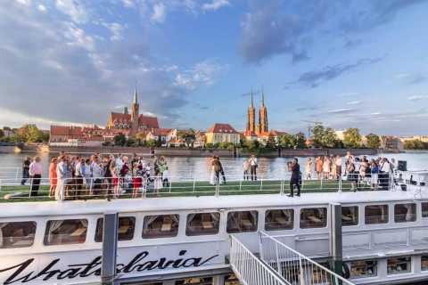 Wrocław: Short City Walk and Cruise by Luxury Ship