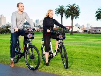 San Francisco: E-Bike-Verleih für 24 Stunden. Foto: GetYourGuide
