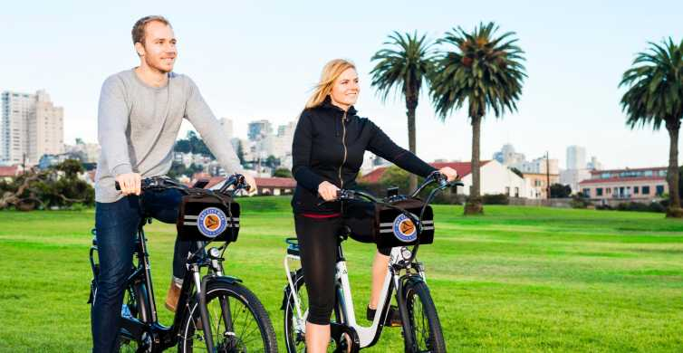 San Francisco Electric Bike Rental for 24 Hours