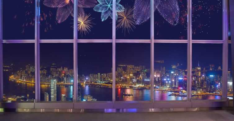 Happy Hour At Sky100 Observatory with Sparkling Light Show
