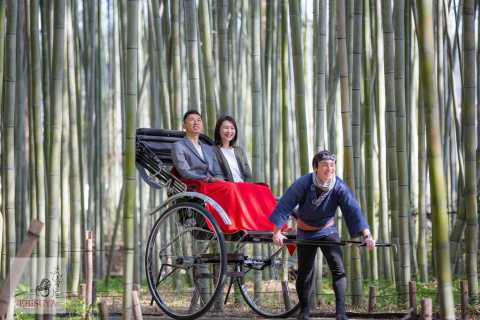 Kyoto: Arashiyama Customized Rickshaw Tour & Bamboo Forest