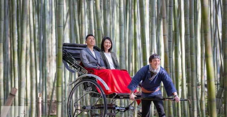 Kioto: tour en rickshaw por Arashiyama y bosque de bambú