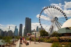 Chicago: Ingresso Comum ou Rápido para a Centennial Wheel