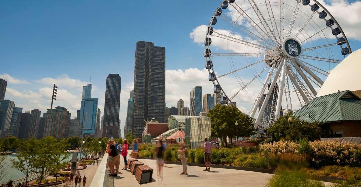Chicago: Billet til Navy Pier Centennial Wheel