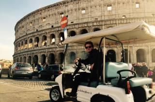 Rom: Abends Golf Cart Tour mit Getränken