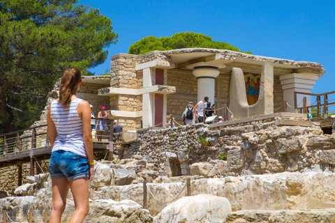 Knossos Palace: Pre-Booked E-Ticket & Smartphone Audio Tour