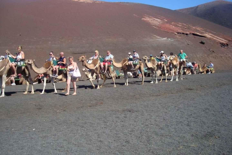 Lanzarote: Nationalpark Timanfaya & La Geria