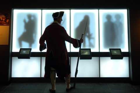 Biglietto per il centro visitatori di Culloden Battlefield con audio guida