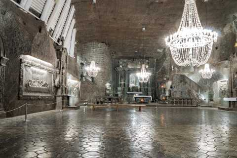 Wroclaw: UNESCO Salt Mine Tour with Visit to Krakow