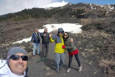 From Catania: Etna, Acireale, and Acitrezza Tour