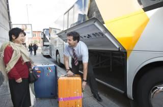 München: Flughafentransfer per Bus