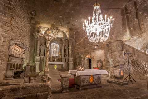 Wieliczka Salt Mine Guided Tour from Krakow