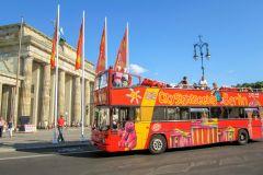 Ônibus Hop-On Hop-Off em Berlim: Bilhete de 24 ou 48 Horas