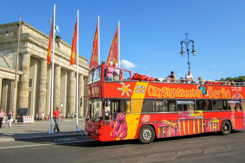 Berlin: Hop-On/Hop-Off-Bustour – 24- oder 48-Stunden Ticket