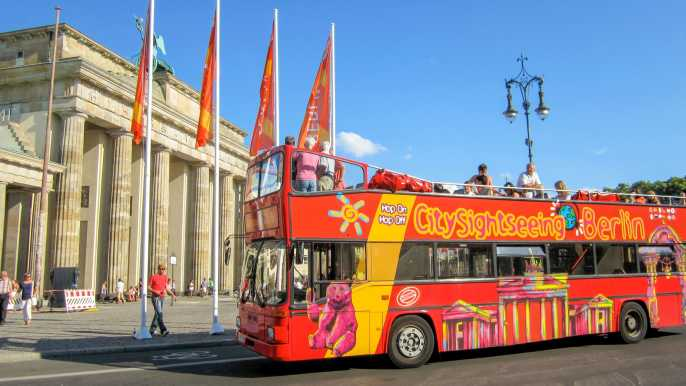 Berlin Hop-on Hop-off Bus Tour: 24 or 48-Hour Ticket