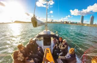 Barcelona: 2-stündiges Segelerlebnis in Port Vell