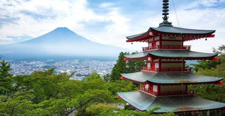 Mt Fuji and Lake Kawaguchi Scenic 1-Day Bus Tour
