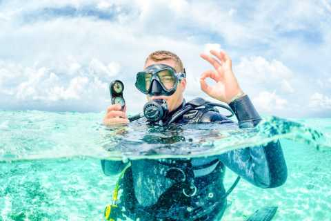 From Dubai: Discovery Scuba Diving for Beginners In Fujairah