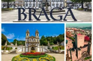 Ab Porto: Braga und Guimarães Tagestour mit Mittagessen
