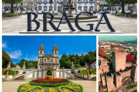 From Porto: Braga & Guimarães Full-Day Tour with Lunch